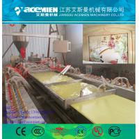 Buy cheap 300mm pvc wall panel making machine with turnkey solutions product