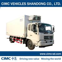 China 8 Ton 4*2 DONGFENG Chassis Enclosed trailer cube van cargo van commercial vans for sale on sale