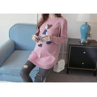 Buy cheap Fashion Pregnant Womens Knit Pullover Sweater BSCI Factory Produced In China from wholesalers