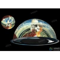 Buy cheap Customized Dome Movie Theater With 360° Screens Aluminum Alloy Structure product