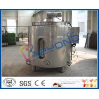 Buy cheap Stainless Steel Chocolate Melting Equipment / Electric Heater Tank 100L - 2000L Volume product