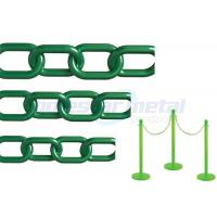 Buy cheap Recyclable Colorful Plastic Link Chain / Green Plastic Chain For Garden product