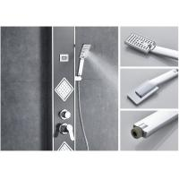 Quality Modern 304 stainless steel waterfall bathroom wall shower panel for sale