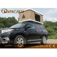 Buy cheap Hard Shell Fiberglass Car Roof Top Tent / Jeep Roof Rack Tent With Fiber Glass Shell product