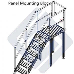 Buy cheap Space Saving Modular Work Platform , Adjustable Stair Industrial Work Platforms product