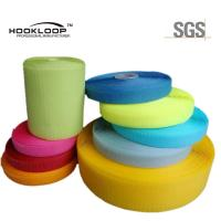 Quality Colorful Grade A 100% Nylon Hook Loop Fasteners For Garment , Different Width for sale