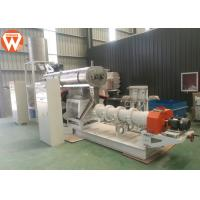 Buy cheap Wet Type Floating / Sinking Fish Feed Production Machine Fish Feed Extrusion Process product