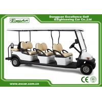 Buy cheap Electric Powered 8 Seater  Electric Golf Buggy Golf Cart CE Approved from wholesalers