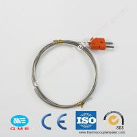 Buy cheap Assembly Thermocouple RTD With K E J B R S Type Thermocouple With Plug product