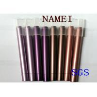 China PVC Plastic Long Lasting Eyeliner Pencil Drawn Tube , Gel Eyeliner Pencil 122 * 7.8mm for sale