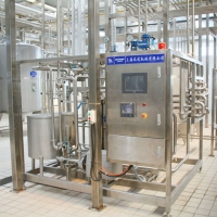 Buy cheap 250ml Per Pack Aseptic Plate Sterilizer Powder UHT Milk Processing Line product