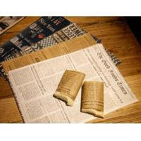 China Printed Greaseproof Baked Good Packaging Wax Paper Sandwich Wrap Paper on sale