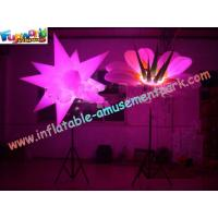 Buy cheap 3m Inflatable Flower Led Lighting For Party Decoration product