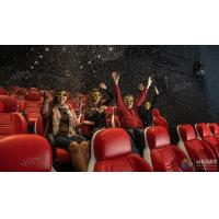 Buy cheap Innovative Electric System 5D Movie Theater Cinema Equipment Black , Red Color product