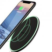 Buy cheap Portable Fantasy Round Qi Wireless Phone Charger For Iphone , Sumsang Mobiles product