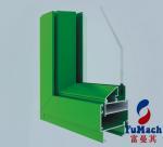 6000 Series High Sealing Flat Open Aluminum Doors And Windows