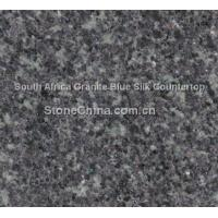 China South Africa Granite Blue Silk Countertop on sale