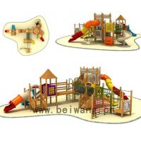 wooden playground equipment series BW10-107 for sale