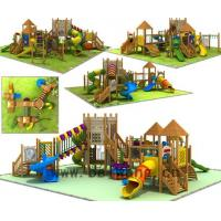 wooden playground equipment series BW10-109 for sale