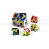 Buy cheap DIY Layout Colorful Sunshine Wood House product
