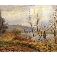 Buy cheap Impressionist(3830) The_Banks_of_the_Oise,_Pontoise product