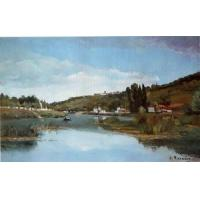 Buy cheap Impressionist(3830) The_Banks_of_the_Marne_at_Chennevieres product