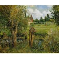 Buy cheap Impressionist(3830) The_Banks_of_the_Epte_at_Eragny product