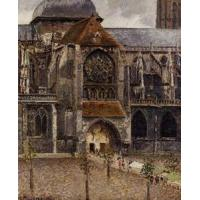 Buy cheap Impressionist(3830) Portal_of_the_Church_Saint-Jacques,_Dieppe product