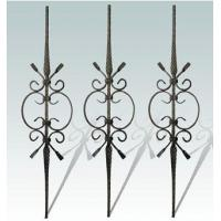 China forged iron balusters forged iron bar026 on sale