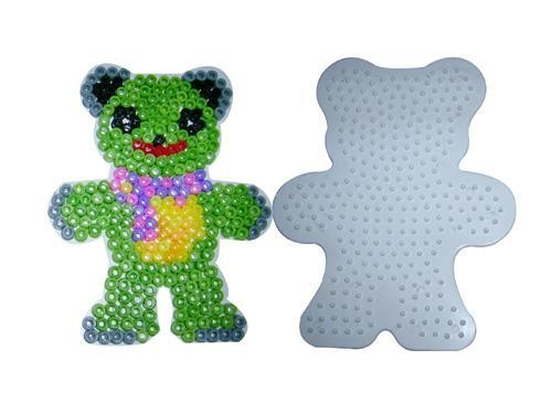 Quality FUSION BEADS diy fashion Bead Teddy Bear Pegboard diy toys for sale