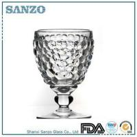 Buy cheap Sanzo Custom Glassware wine glass Manufacturer machine made glassware whisky glass YWW12001C product