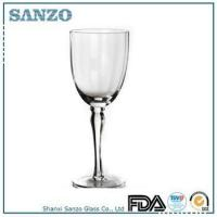 Buy cheap RW09036 Sanzo Handmade Glassware Manufacturer handmade clear red wine glass goblet product