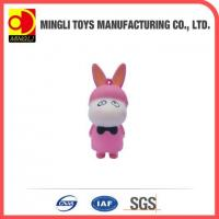 Buy cheap PU Stress Toys Hot new products Mini keychain rabbit action figures for baby toy product