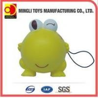 Buy cheap PU Stress Toys Factory custom Mini keychain frog Cartoon action figures for baby toy product