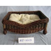 Buy cheap Eco-Friendly Saeamed Willow Pet Bed product