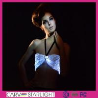 Light up women clothes YQ-02 luminous sexy bra