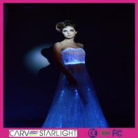 Buy cheap Light up women clothes YQ-50 luminous evening gown product