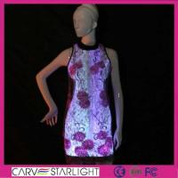Buy cheap Light up women clothes YQ-81 luminous party dress Chinese qipao product