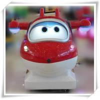 Cartoon Super Wings kiddie rides game machine