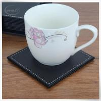 Buy cheap &Travel Organizer Leather bear coaster in black product