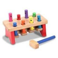 Buy cheap Deluxe Pounding Bench from Melissa & Doug product