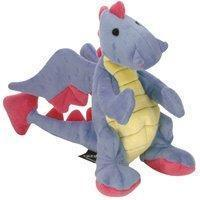 Buy cheap Sherpa Baby Dragon Periwinkle Dog Toy With Chew Guard Go Dog by Sherpa Pet Group LLC. product