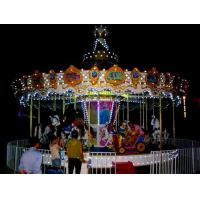 Buy cheap Carousels 24 seats carousel merry go round product