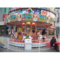 Buy cheap Carousels 3 seats small merry go round product