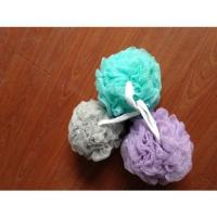 Buy cheap Soft Bath puff with ribbon product