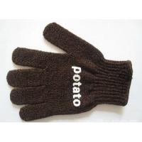 Buy cheap Brown bath Mitt with logo product