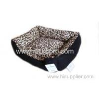 Buy cheap Fashion Leopard dog bed with a handle,top quality reasonable price/pet bed product