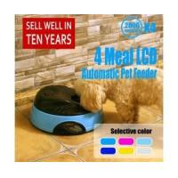 Buy cheap 4-meal Automatic Pet Feeder Eco Dog Bowl from wholesalers