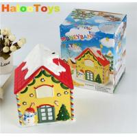 Buy cheap diy christmas house money bank product