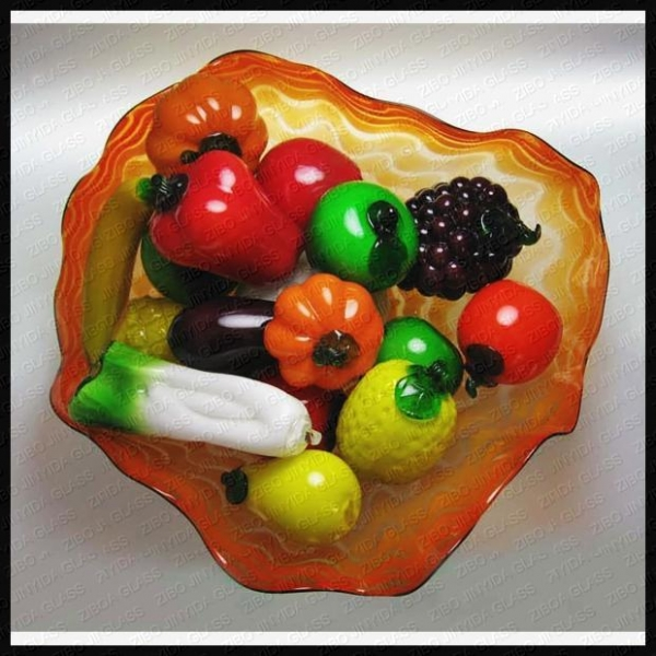 Quality Glass Fruit and Vegetables for sale